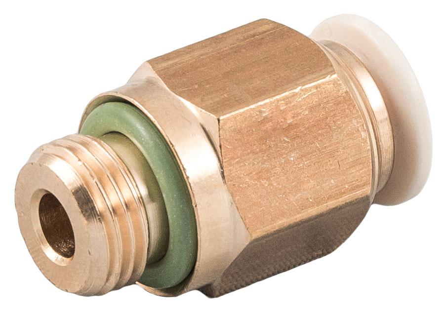 La serie 59000 push-in,è prodotta in lega di ottone a basso tenore di piombo, certificata per l'utilizzo con acqua potabile.