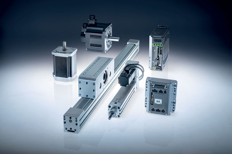 Figure 3. The range of electromechanical components.