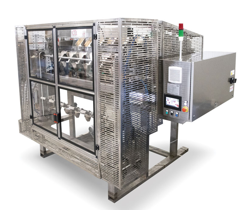 The partnership between CTI Foodtech and Mitsubishi Electric has led to the development of a new patented automatic feeding system 'CTI-FAS'.