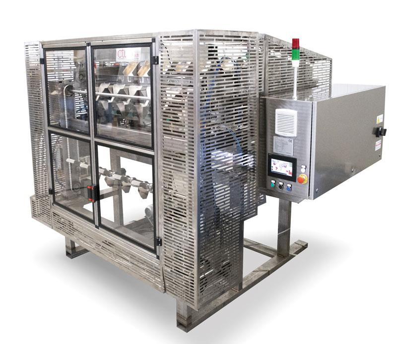 """La partnership tra CTI Foodtech e Mitsubishi Electric ha portato allo sviluppo di un nuovo sistema di alimentazione automatico brevettato """"CTI-FAS""""."""