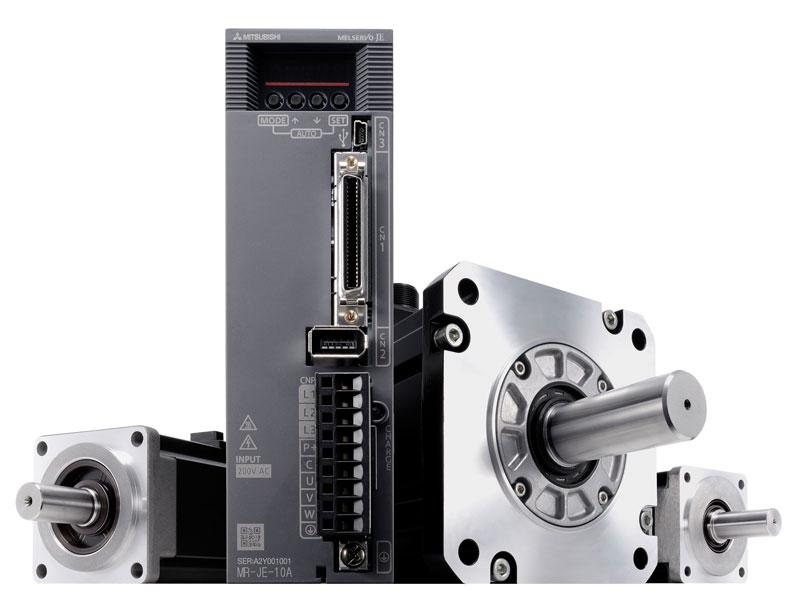 Mitsubishi Electric's MR-JE family of servo systems.