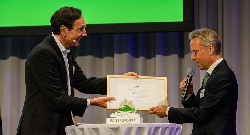 Railsponsible Supplier Award 2021