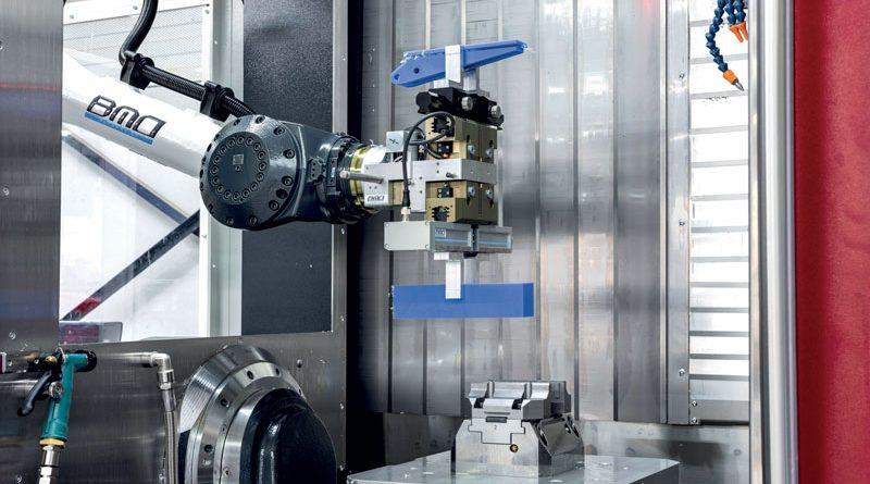 Le celle robotizzate di BMO Automation sono equipaggiate con pinze servocomandate che integrano i servomotori brushless di Faulhaber.