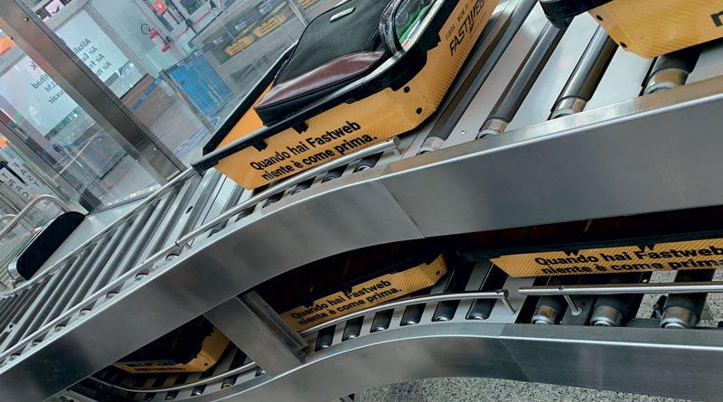 I motorulli di Rulli Rulmeca sono in grado di garantire affidabilità e durata degli impianti di smistamento aeroportuali.