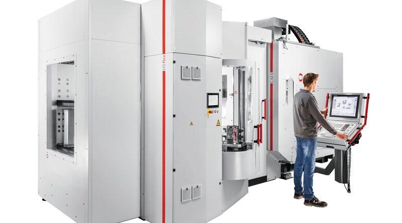 In occasione della BI-MU, Hermle Italia presenta - in anteprima nazionale - il centro di lavoro a cinque assi C400 U abbinato a un'automazione HS-Flex.