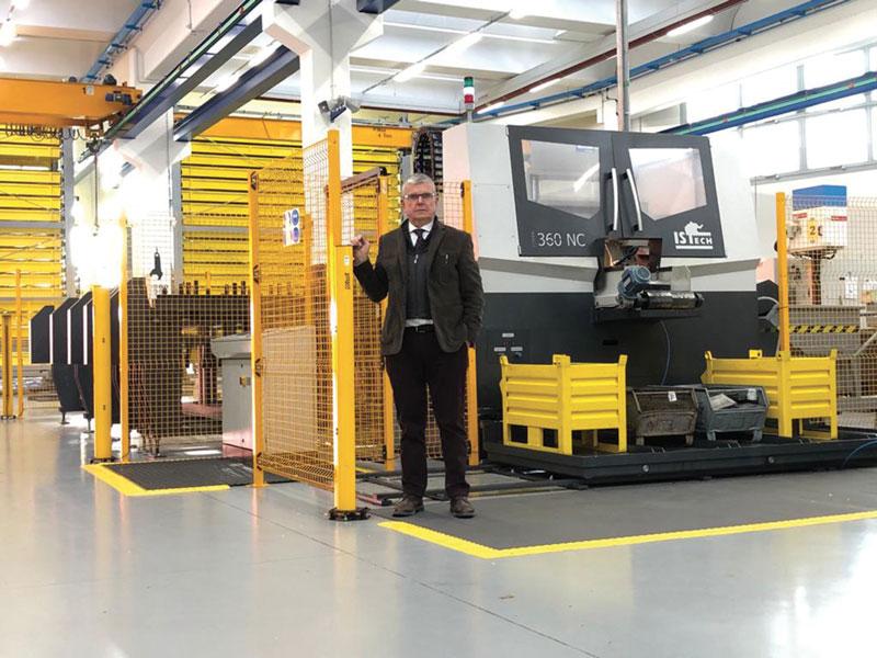 Grande è la soddisfazione espressa da Bruno Bargellini, titolare di Top Automazioni, per aver installato in azienda il nuovo sistema di taglio ISTech.