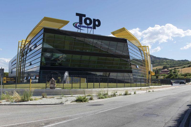 Lo stabilimento di Top Automazioni a Poggio Torriana (RN).