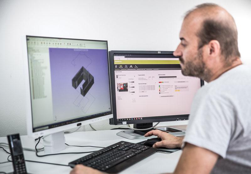 """""""Siamo sempre aperti a nuove tecnologie, alla ricerca di soluzioni che ci permettano di essere sempre all'avanguardia, come il software StateMonitor"""", ha commentato Bernd Rossmair titolare di WB mechanics."""