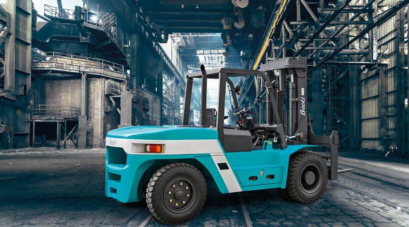 Nuovi carrelli elevatori heavy duty con motori diesel
