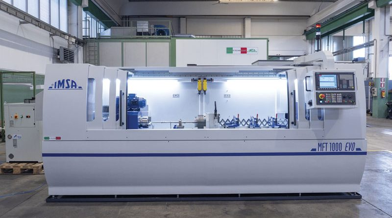 MFT1000EVO è stata realizzata per un costruttore francese di utensili, che adesso può effettuare al proprio interno il processo di foratura profonda, in precedenza svolto esternamente.