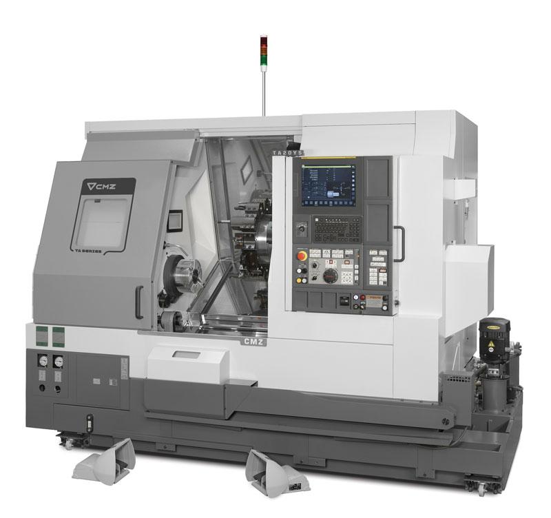 Per ottimizzare la produzione di componenti della propria gamma di chiavi dinamometriche, SAM OUTILLAGE ha recentemente investito su un centro di tornitura TA 20 YS 640 di CMZ.
