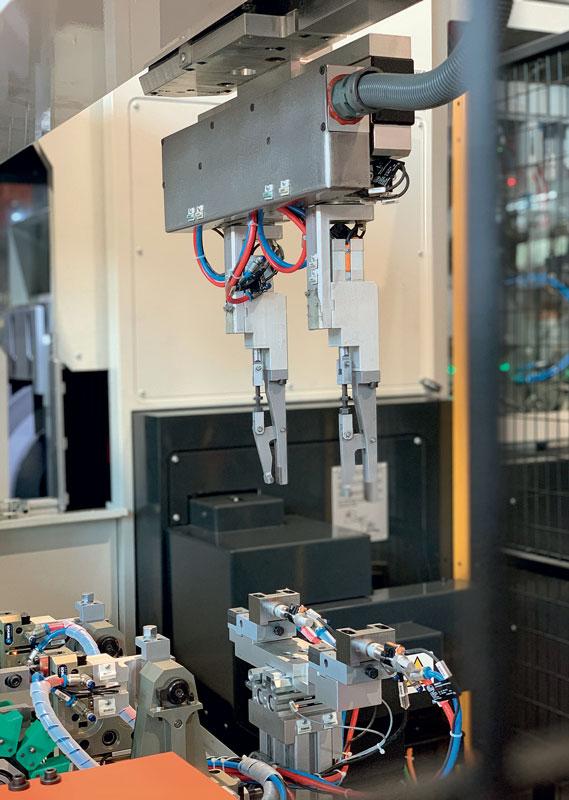 Sulla nuova APG è possibile montare mole fino a 500 mm di diametro per 250 mm in larghezza.