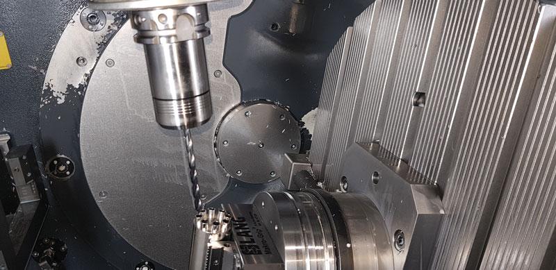 Fresa integrale in metallo duro VQ di Mitsubishi Materials DIAEDGE.