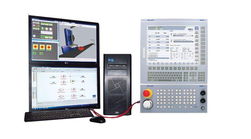 Gemello digitale con CNC indipendente.