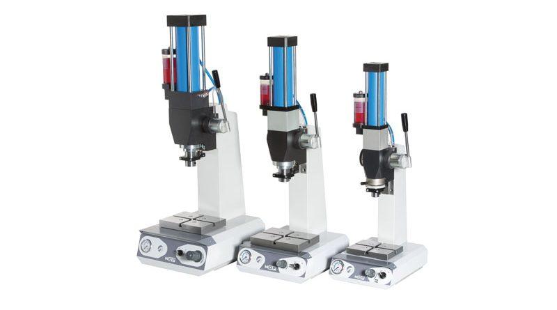 Le nuove MOP segnano il passaggio da una gestione pneumatica a una elettropneumatica delle funzionalità della pressa.