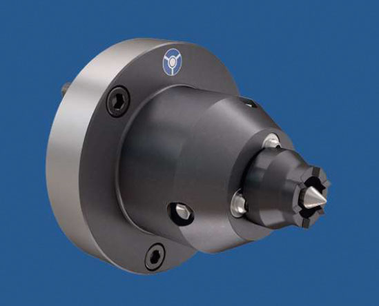 Per un serraggio motorizzato, automatico su centri di lavoro CNC o di tornitura/fresatura, Röhm propone il trascinatore frontale CoK-AE.