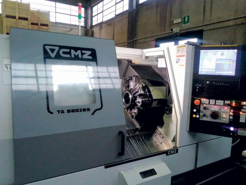 Attualmente in R.O.M. Renzi Officine Meccaniche sono installate due macchine CMZ: si tratta di un tornio a controllo numerico TA-20-TY-640 e di un tornio a controllo numerico TA-20-TM-640.