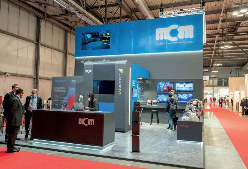 Foto dello stand MCM in BI-MU.