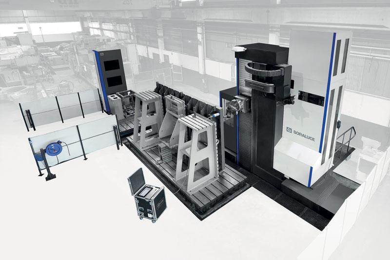 Il sistema DWS permette l'eliminazione del chatter che si genera abitualmente nella lavorazione di pezzi in acciaio elettrosaldato.