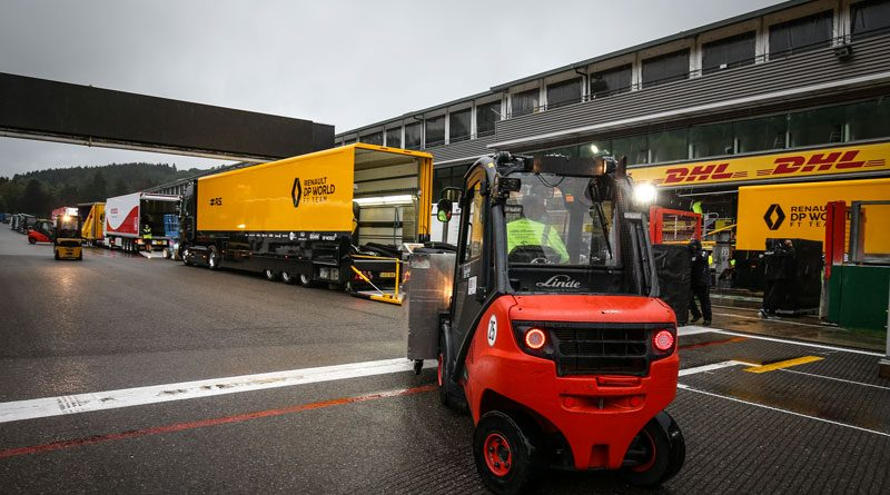 Un team da Formula 1 per il Renault Racing Team