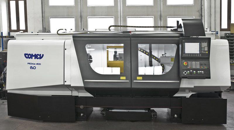 Comev si occupa dell'intero ciclo di produzione dei torni: progettazione, sviluppo, costruzione dei componenti, montaggio finale.