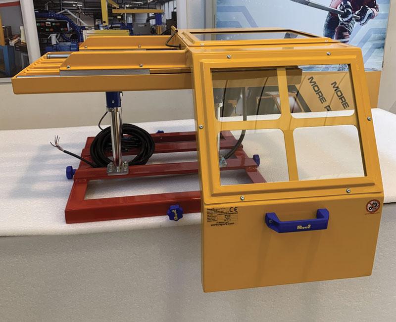 Nelle protezioni per torni 1 MinorAER/SPECIAL-LLS di Repar2 il diametro di protezione è 700, 800, 1.000, 1.200 e 1.500 mm, mentre la larghezza è pari a 400 mm.
