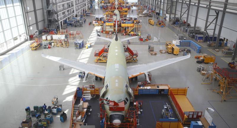 Gestire le forniture di produzione per Airbus