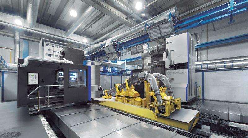 Soraluce propone soluzioni flessibili e automatizzate, con sistemi completamente pallettizzati, finalizzati alla produzione non presidiata di pezzi di grandi dimensioni e con geometrie complesse e variabili.