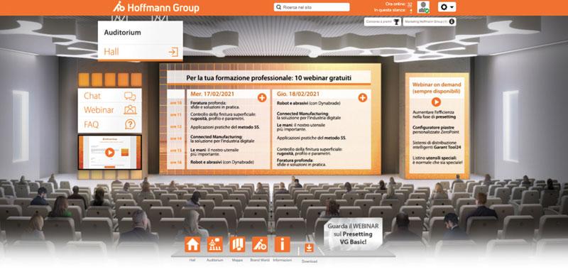 Le aziende che si sono registrate alla fiera virtuale di Hoffmann Group Italia hanno avuto la possibilità di partecipare a sei webinar in programma e quattro on-demand.