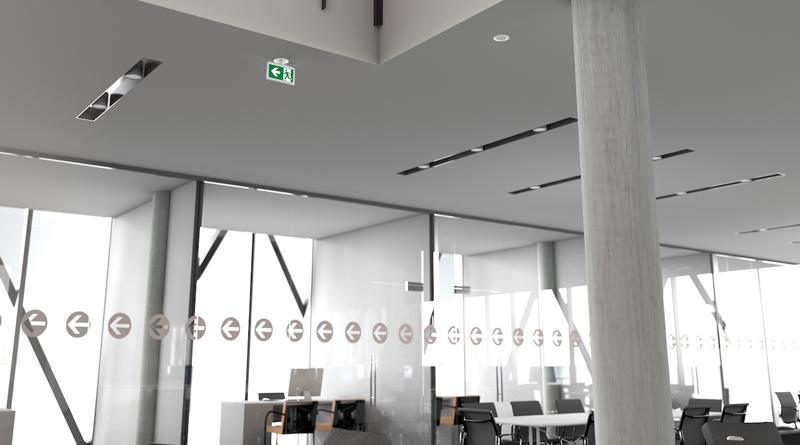 Installare l'illuminazione di emergenza in maniera semplice e veloce