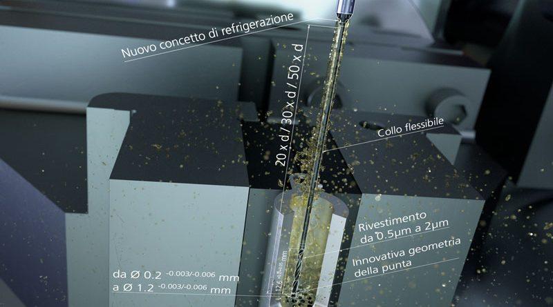 Micro diametri per lavorare materiali biocompatibili