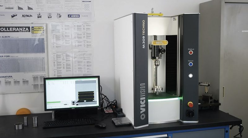 Il sistema Vici & C. installato presso l'Officina Meccanica di Precisione Bavieri Alfeo è il modello Techno M309.