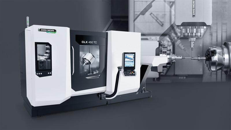 La linea CLX TC rappresenta la nuova generazione di macchine DMG MORI per la lavorazione completa sui 6 lati.