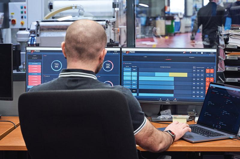 Keyprod è un sistema MES che consente ad aziende operanti nei più diversi settori di instaurare un processo di produzione in ottica Industria 4.0.