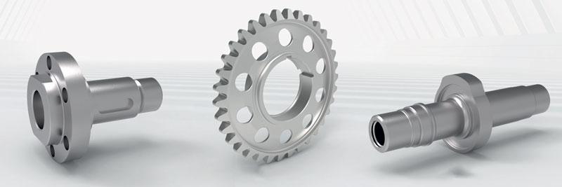 Grazie all'asse B con mandrino di tornitura/fresatura compactMASTER, le macchine CLX 450 TC assicurano elevata produttività anche nella produzione di particolari complessi.