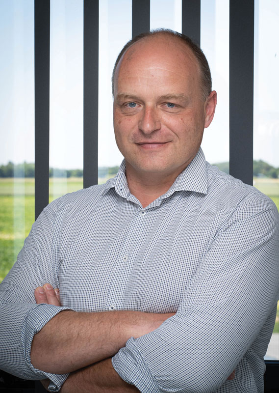 Jocelyn Vecchio, direttore della progettazione tecnica e dell'innovazione presso JPB Système.