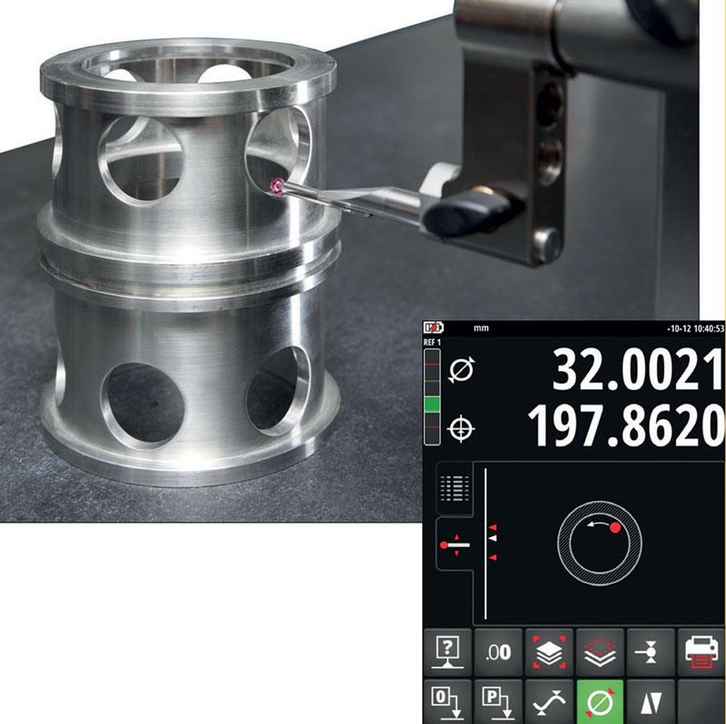 La funzione Fast Diameters permette la misurazione rapida dei diametri e guida l'utente con precisione durante la misurazione del diametro con un significativo aumento in termini di velocità e affidabilità.