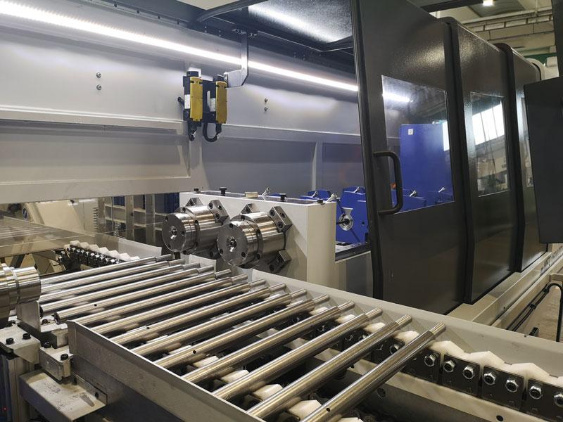 La seconda foratrice bimandrino (il modello MFT1500/2TCR) da poco consegnata da I.M.S.A. è destinata a un'azienda francese dell'Alta Savoia, specializzata nella lavorazione di pezzi per la meccanica di precisione.