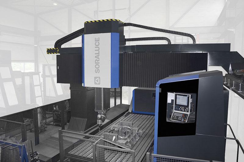 Con le fresatrici a portale multitasking Soraluce è possibile aumentare la produttività nella lavorazione di pezzi tecnicamente complessi.