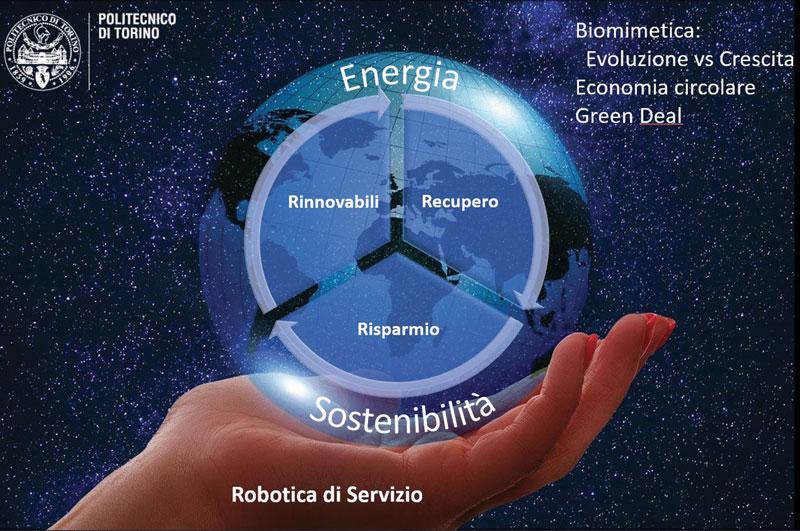 La tecnologia deve evolvere ma non necessariamente ciò presuppone un modello a crescita infinita, perché non si devono superare i limiti della sostenibilità.