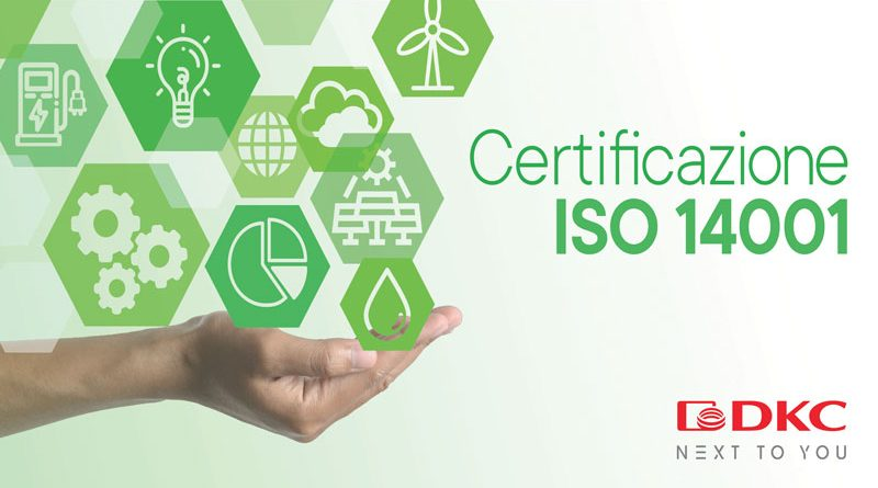 Ottenuta la certificazione UNI EN ISO 14001:2015