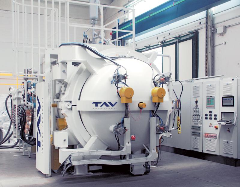 Forno da diffusion bonding modello T-HP-93-75-164.