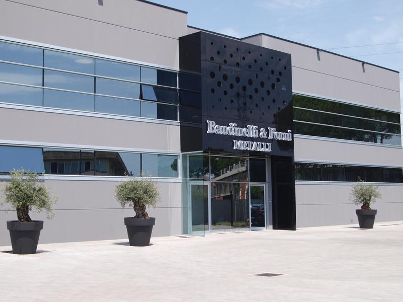 Stabilimento di Scandicci (FI) di Bandinelli & Forni Metalli.