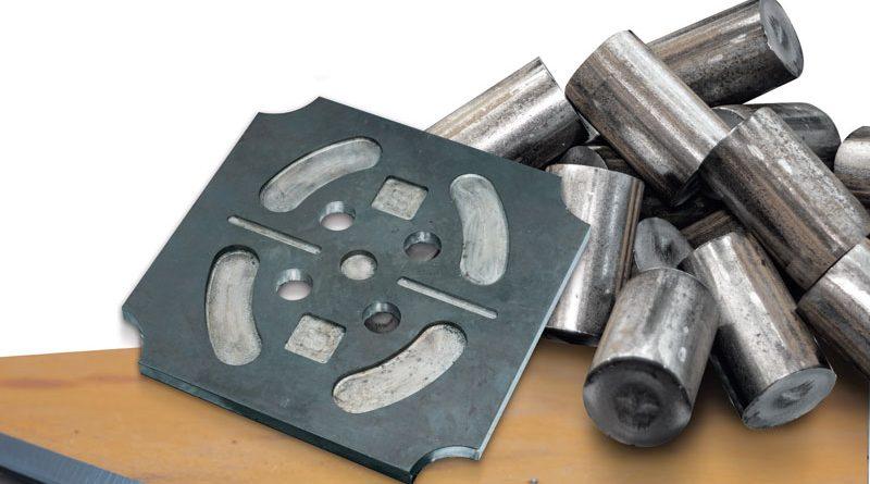 Particolari lavorati sugli impianti FICEP per la carpenteria metallica e per la forgiatura e stampaggio.