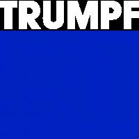 Trumpf Logo bianco